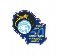 Soyuz TMA-21 International Space Station Mission Decal